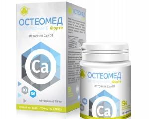 Лечение остеопороза Остеомед Форте и профилактика костных заболеваний