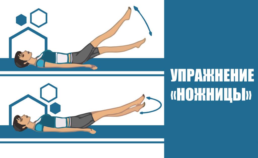 Упражнения ЛФК при грудном сколиозе