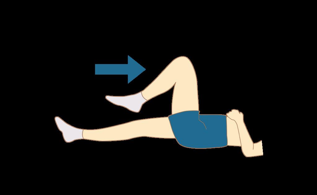 Подъём ноги с фиксацией