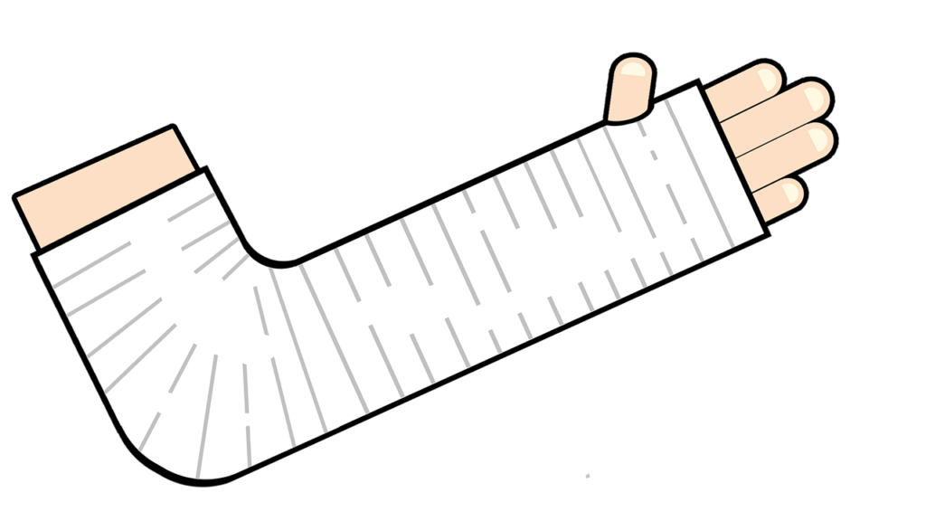 болит рука в гипсе после перелома