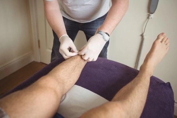 массаж при артрите стопы